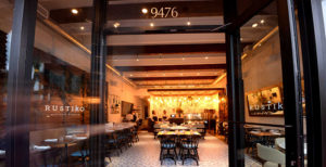 We have three high end restaurants you can chose from for your next big event.